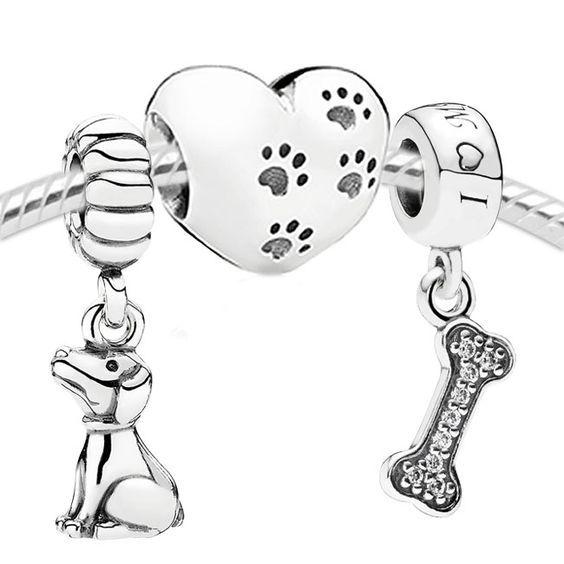 Pandora My Sweet Dog Set- £120!:O i do love my dog, she is my best friend! 15 this year!:O ✌▄▄▄>>>>>>Pandora Jewelry 80% OFF! $10~$200 >>>Visit>> http://pandoraonsale.site/  ✌▄▄▄