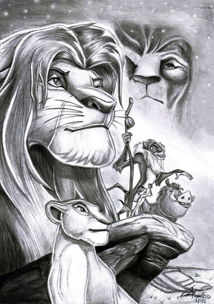 The Lion King by Daviskingdom.deviantart.com on @deviantART