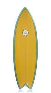 retro watershed fish surfboard
