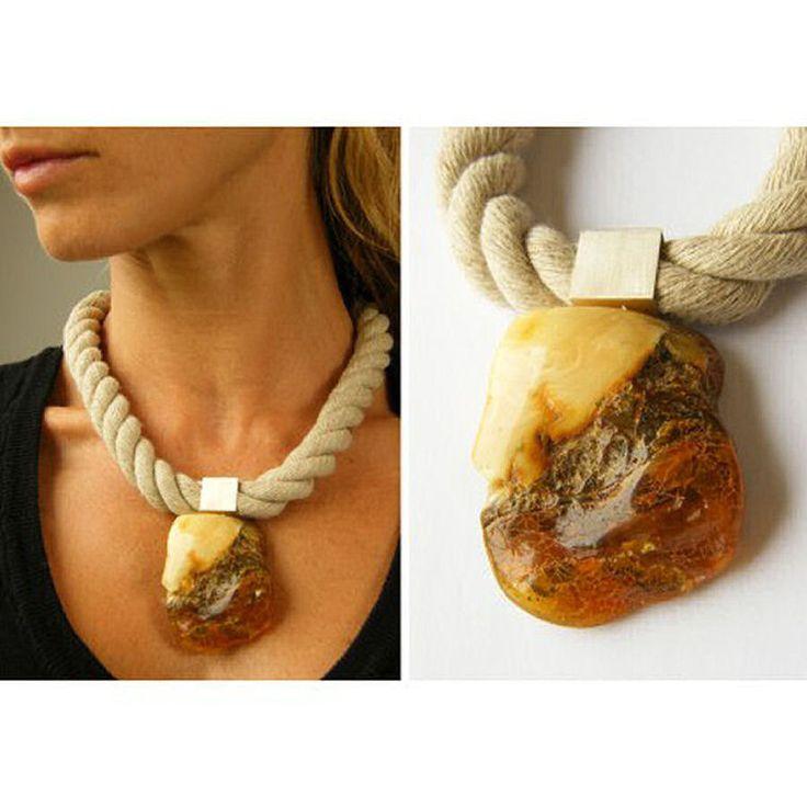 FREE Shipping Mega Amber Pendant, Silver 925  orange, yellow, honey, Butterscotch,  amberstone  NEW, UNIQUE von JewellryWithSoul auf Etsy