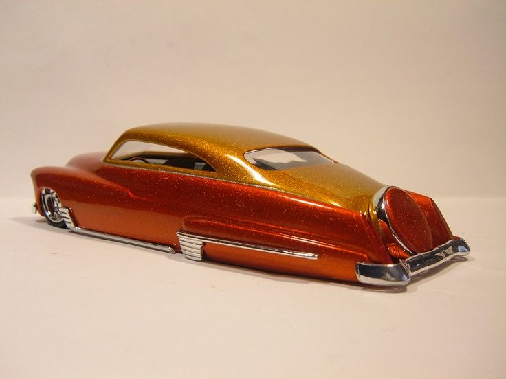 beautifully crafted scale model fastback model car