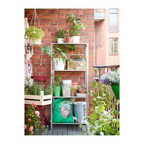 Ikea outdoor shelf