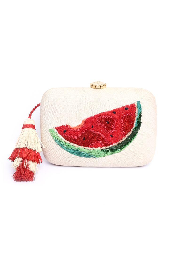 Watermelon clutch bag | ARANAZ | Accessories | Beach Flamingo