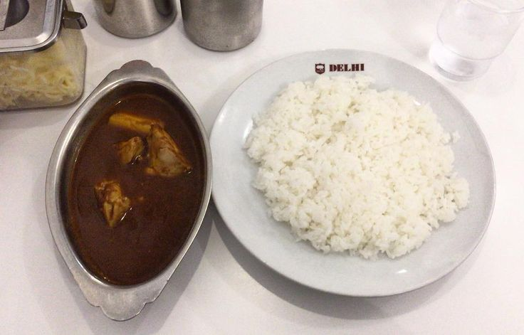 新川デリー 日本式の本格カレーライス? あるようで意外に少ないような #新川デリー #shinkawadelhi #カレー #インドカレー #カレーライス #curry #curryrice #ランチ #昼食 #lunch