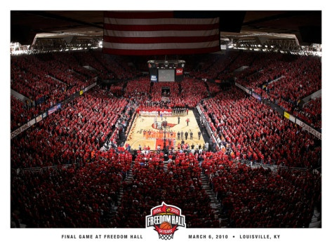 University of Louisville - Freedom Hall Finale- Louisville Basketball Photographic Print at AllPosters.com