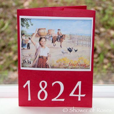 1824 - Josefina :: An American Girl Lap Book and Unit Study