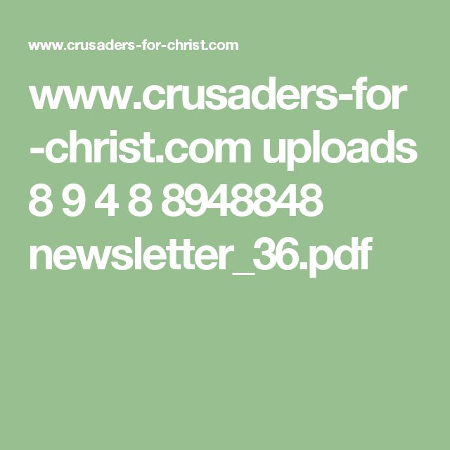 46 melhores imagens de july no pinterest santos catlicos crusaders for christ uploads 8 9 4 8 8948848 newsletter36 fandeluxe Gallery
