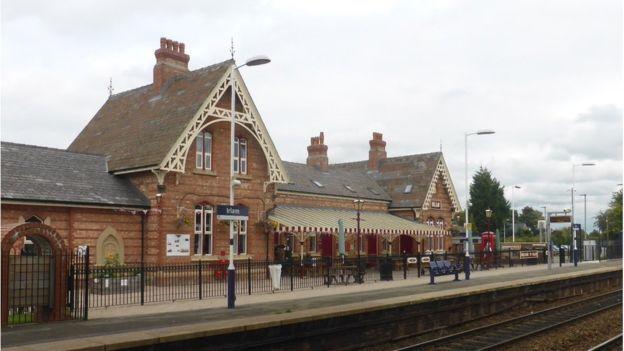 Irlam railway station