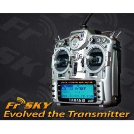 FrSky Taranis - 16 Channel RC Radio, Full Telemetry Transmitter + X8R receiver