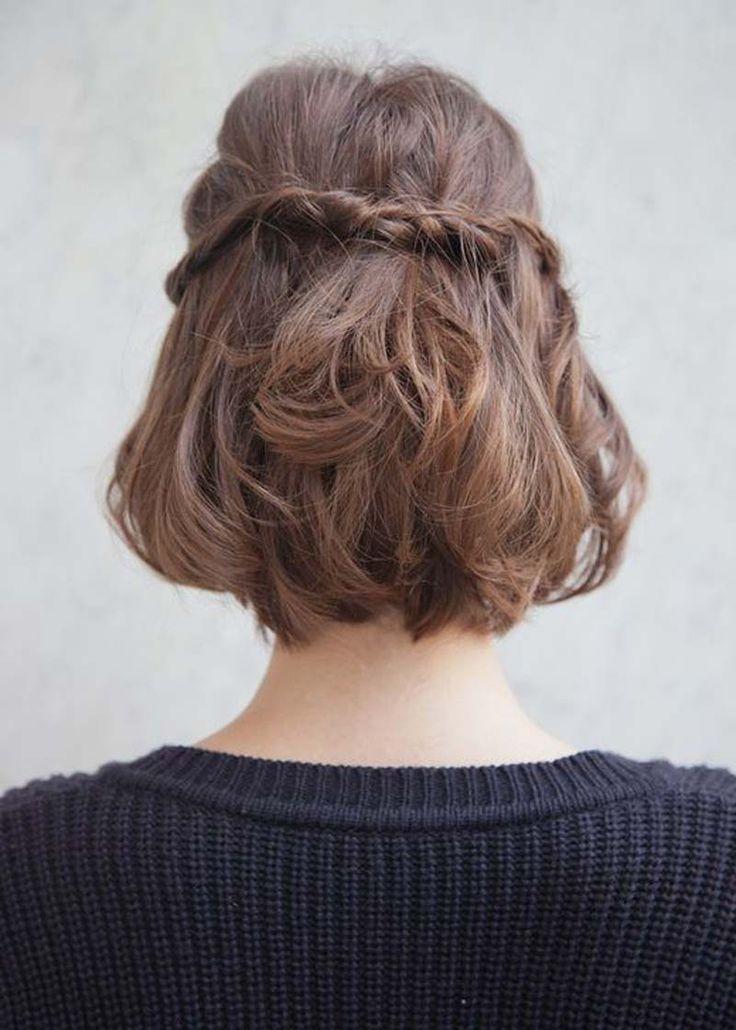 braided short hair
