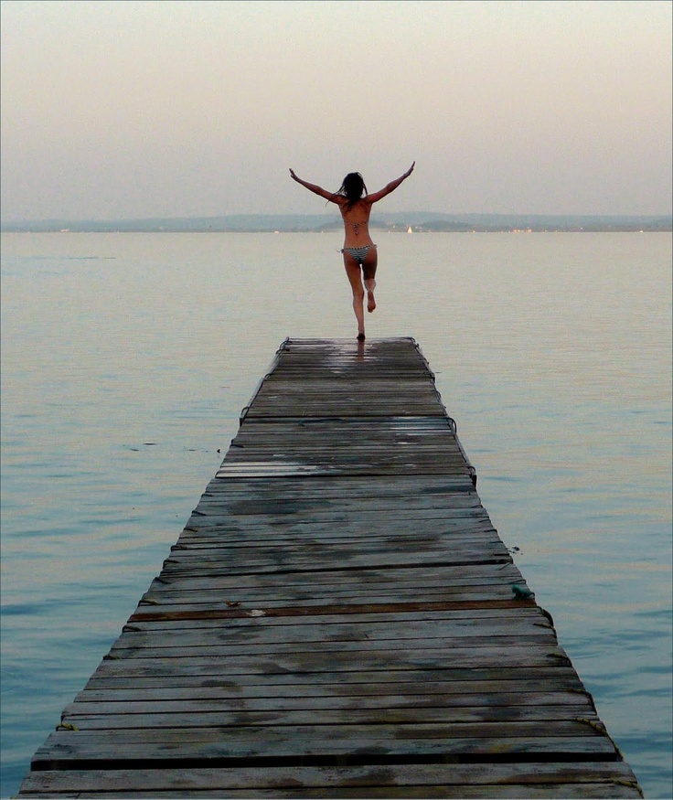 Lake Balaton.  By far, one of the BEST days I spent in Hungary was in these very waters.
