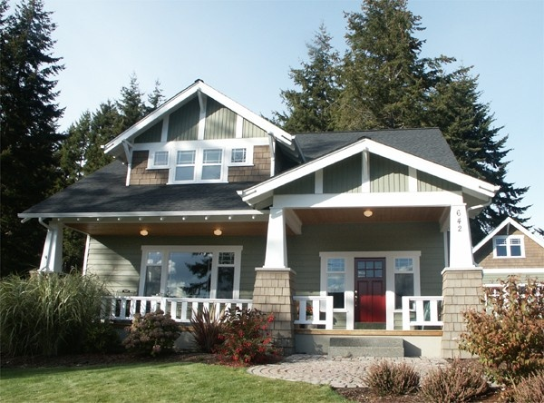 LOVE Craftsman style homes for-the-home