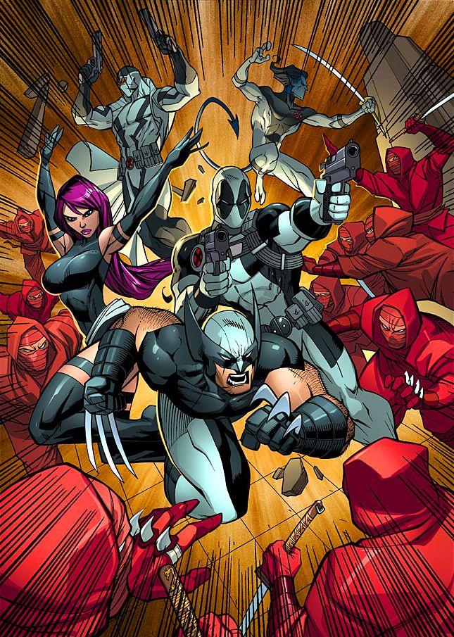 Psylocke Deadpool 134 best images about ...