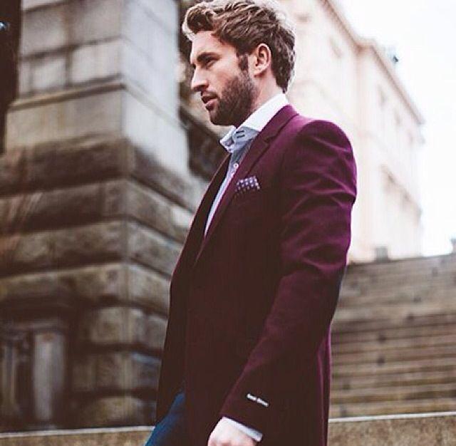 Glasgow Street style shot by joshua porter // blazer bought from slater menswear