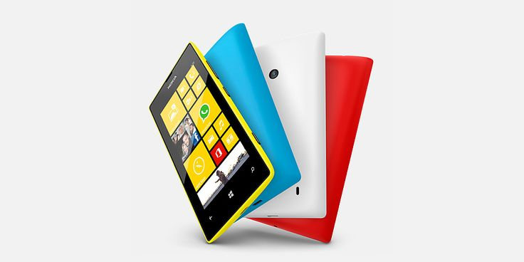 """The Nokia Lumia 520. """"The more smartphone"""". Win one with the """"Official African Chart"""" and Nokia."""