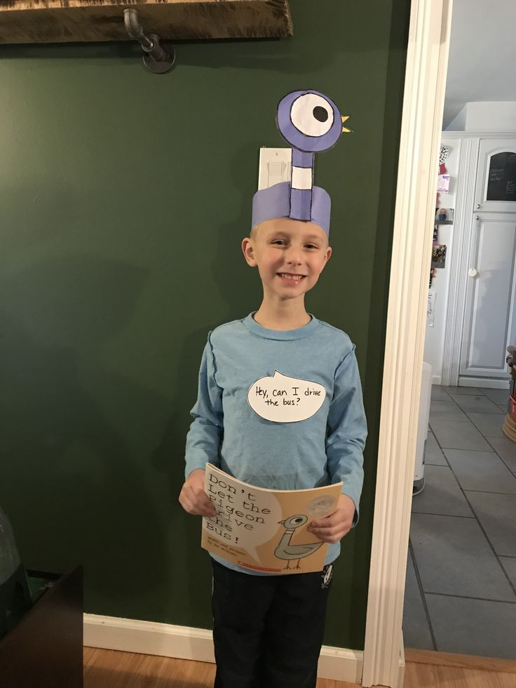 Book character day at school  Pigeon Mo Willems