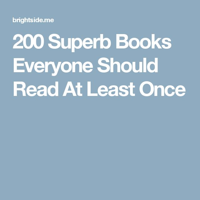 101 best middle school images on pinterest teaching high schools 200 superb books everyone should read at least once fandeluxe Gallery