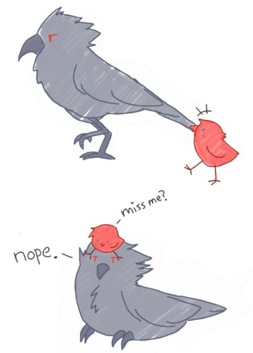 Tiny Rubirb and Qrow mentor