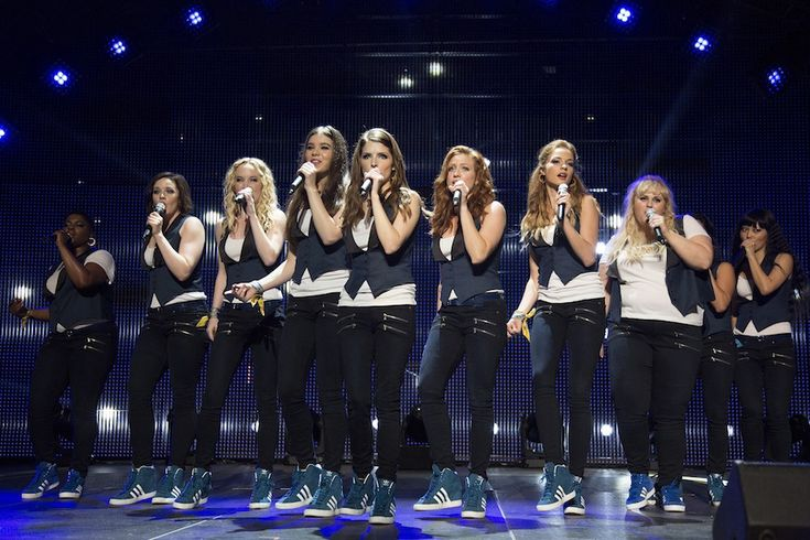 Image from the movie Pitch Perfect 2.