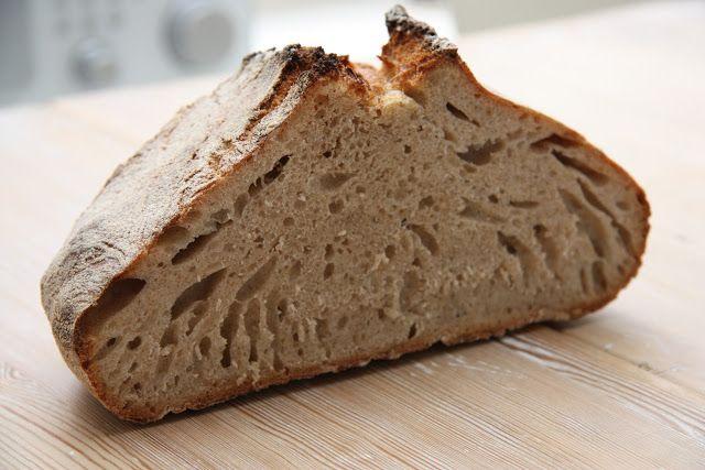 Kaldhevet brød fra matentusiasten.blogspot.no/