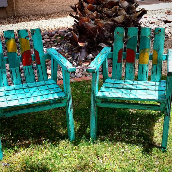 Sold HOPI RAINSTORM CHAIRS by VagabondStudioSW on Etsy