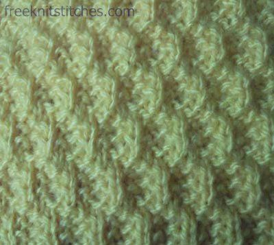 Knitting Stitch Patterns -- Knit & Purl Stitches--                 Crack
