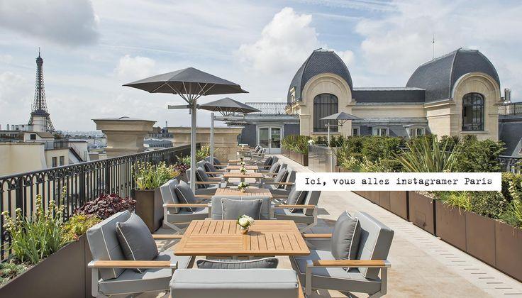 Le restaurant L'Oiseau blanc du palace Peninsula, 19 avenue Kleber, Paris 16e