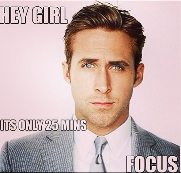 "From one of our fans! ""Ryan Gosling always motivates me... :-) """