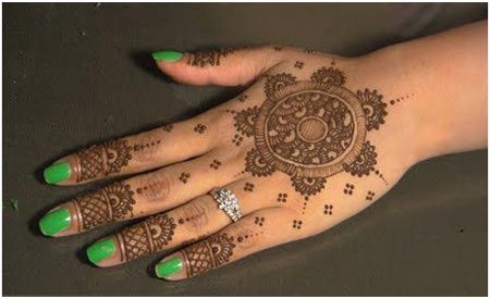 10 Round Mehndi Designs You Should Definitely Try
