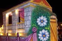 Image result for wagon float decorating ideas
