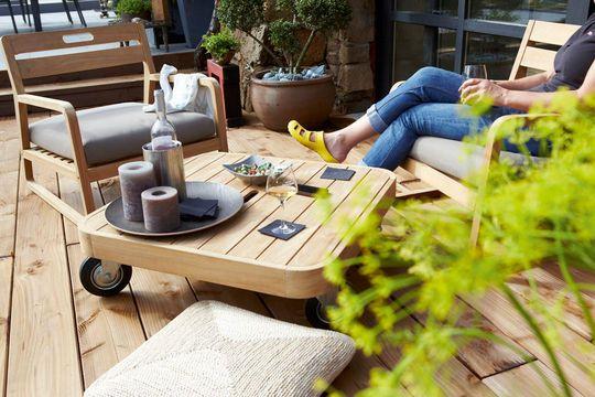 Deco terrasse exterieur mobilier de jardin et decoration for Mobilier jardin terrasse