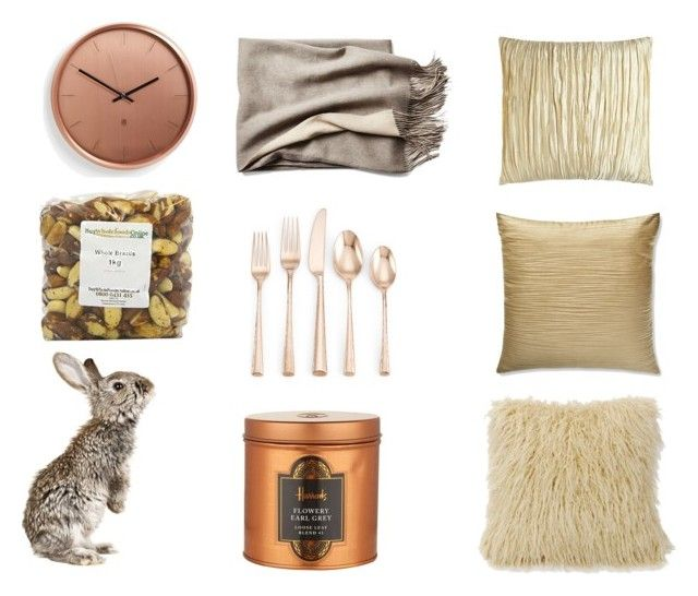 """easter beige"" by emily-lithen on Polyvore featuring interior, interiors, interior design, home, home decor, interior decorating, HiEnd Accents, Austin Horn, Harrods and Donna Karan"