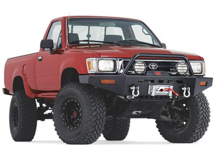 Warn Rock Crawler Front Bumper for '89-95 Toyota Pickup (68450, 68451)