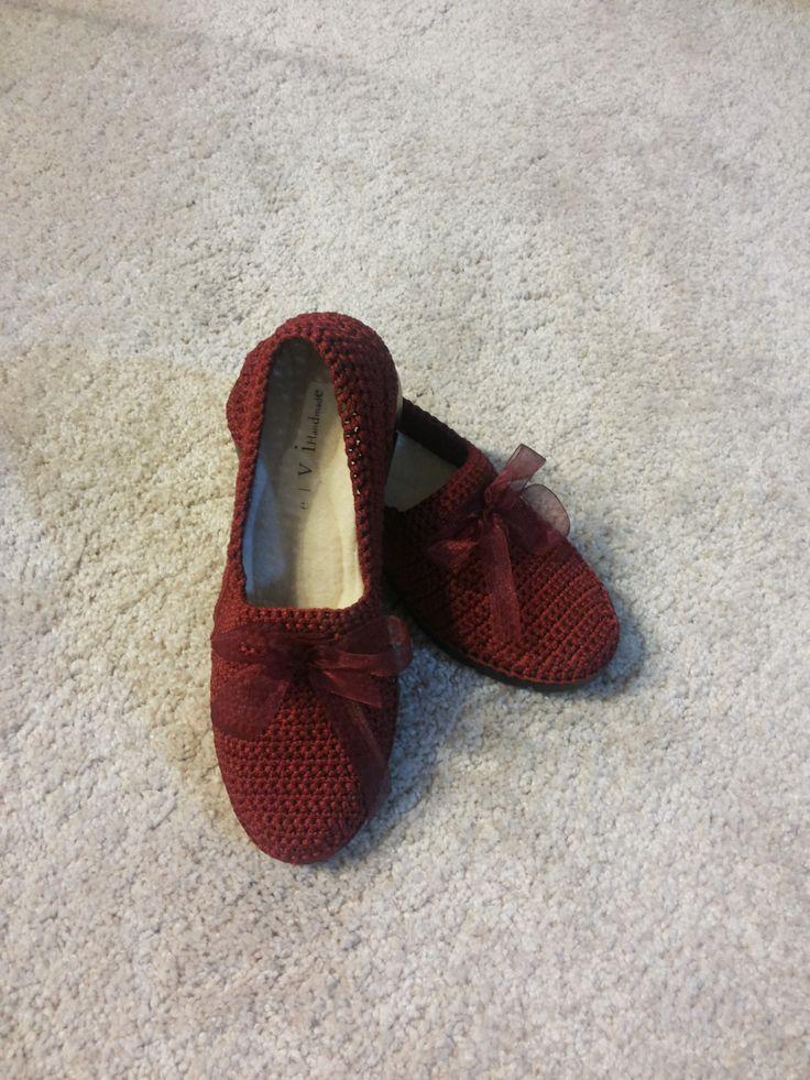 Outdoor Crochet shoes by elvihandmade on Etsy