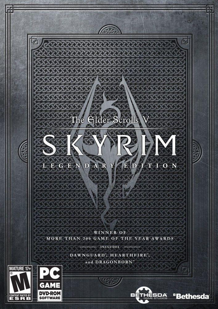 The Elder Scrolls V: Skyrim -- Legendary Edition (PC, 2013) CD KEY
