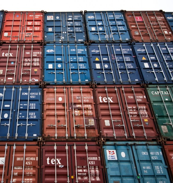 Rotterdam = container haven