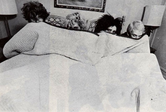 Siouxsie & the Banshees in the bed