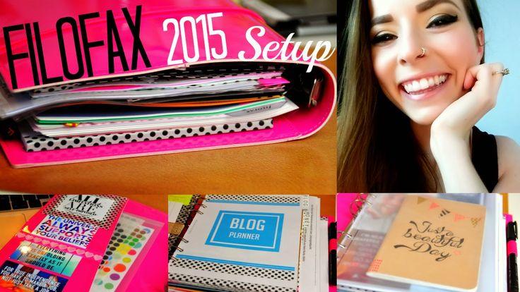 Filofax Setup for 2015 – affordable filofax setup on a low budget / Filofax Setup für 2015 – günstiges Filofaxen für den kleinen Geldbeutel by http://www.purepowerpanda.com