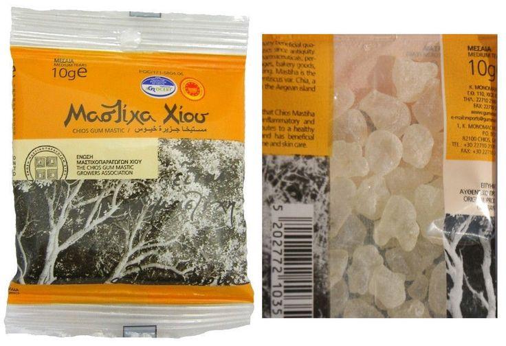 Greek Pure Gum MASTIC OF CHIOS ISLAND 10g - top quality Medium Tears #CHIOSMASTIC