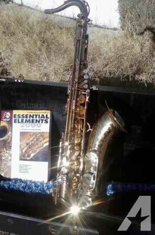 Selmer U.S.A Tenor Saxophone TS-100 With Original Case for Sale in China Lake, California Classified | AmericanListed.com