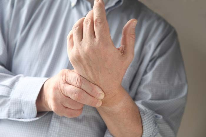 Your joints, muscles, ligaments -- and your whole body structure -- can become misaligned from doing your massage work. As a result, your wrists hurt.