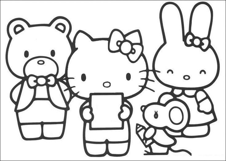 Mandala Hello Kitty. Malvorlagen Hello Kitty Und Malvorlagen. Best ...