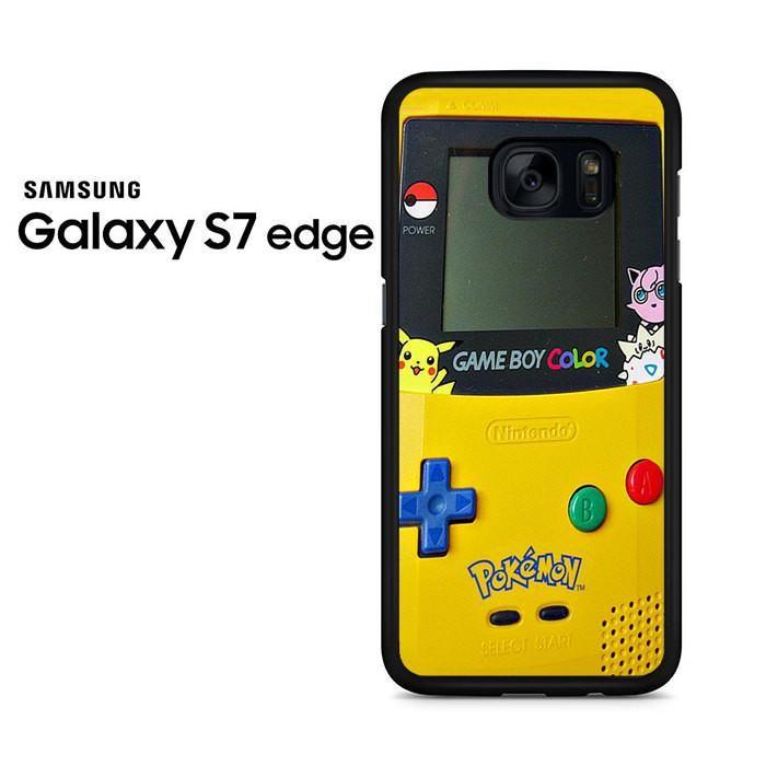 Gameboy Color Pokemon Samsung Galaxy S7 Edge Case