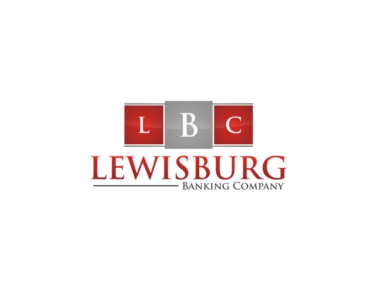 Vector Logo With Sale : Lewisburg Banking Company Logo Initials, Abstrack