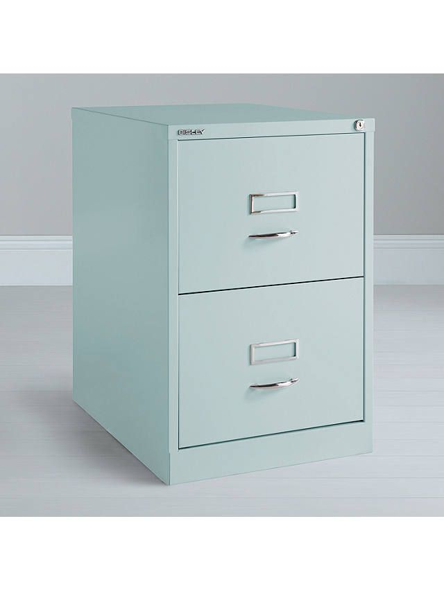 reputable site a9a40 2fa96 Bisley 2 Drawer Filing Cabinet, Yellow | Workroom ideas ...