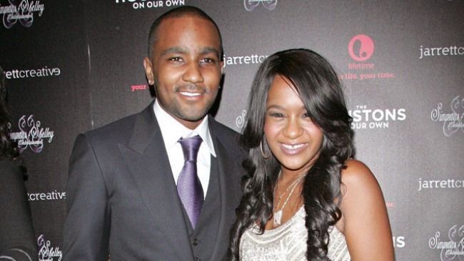 Nick Gordon and Bobbi Kristina Brown are officially married. (Photo courtesy of E! Online)