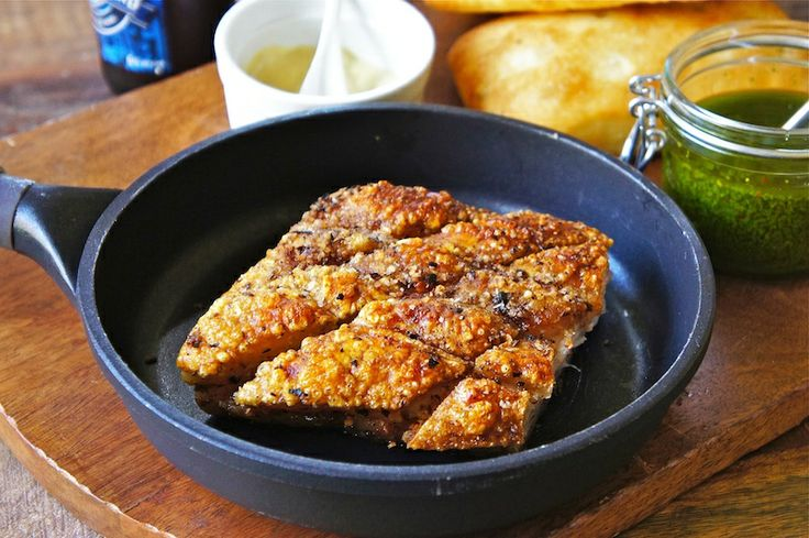 Crispy Roast Pork Belly / Seasaltwithfood