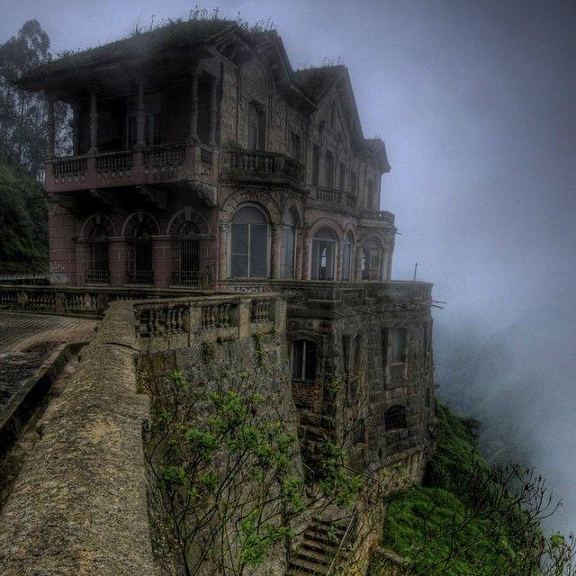 Abandoned Hotel Salto San Antonio del Tequendama, Colombia