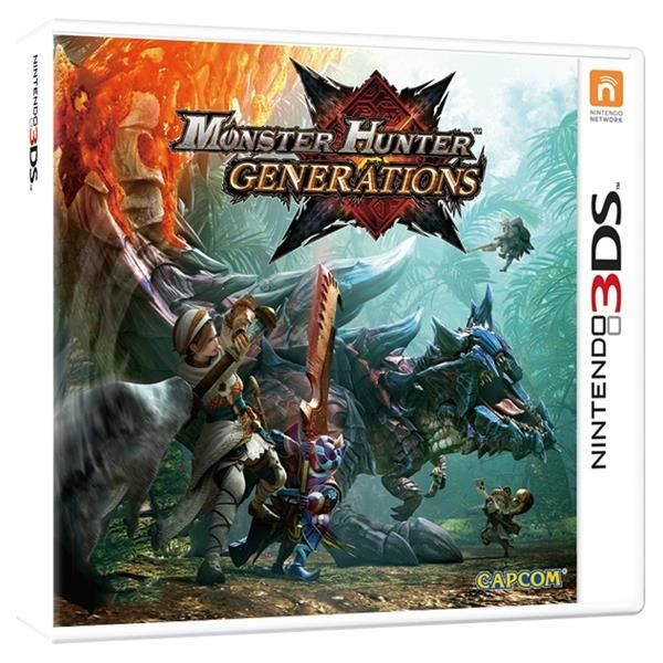 Monster Hunter Generations 3DS Game | http://gamesactions.com shares #new #latest #videogames #games for #pc #psp #ps3 #wii #xbox #nintendo #3ds