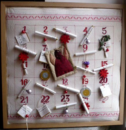 1443 best images about diy calendrier de l 39 avent advent for Handmade christmas countdown calendar